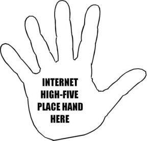 95-Internet-High-Five