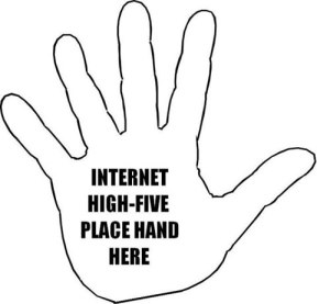 95-Internet-High-Five
