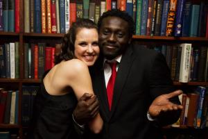 Chelsea and Yaw, Photo by Chris Luckhardt.